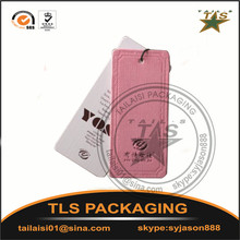 High quality customized printed paper t shirt hang tags/Paper hang tags/swing tags design