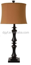 poly resin table lamp with UL/CUL CE certification
