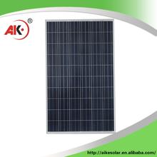 High evaluation 30V 250W polycrystalline silicon photovoltaic solar panel