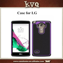 TPU+Silicon Colorful mobile phone back cover case for LG G4 Vista