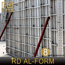 RD Foshan muro de hormigón constituye el sistema de construcción