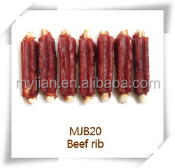 beef rib MJB20 pets snacks dry bulk dog training treats snacks dog food chew natural manufacturers