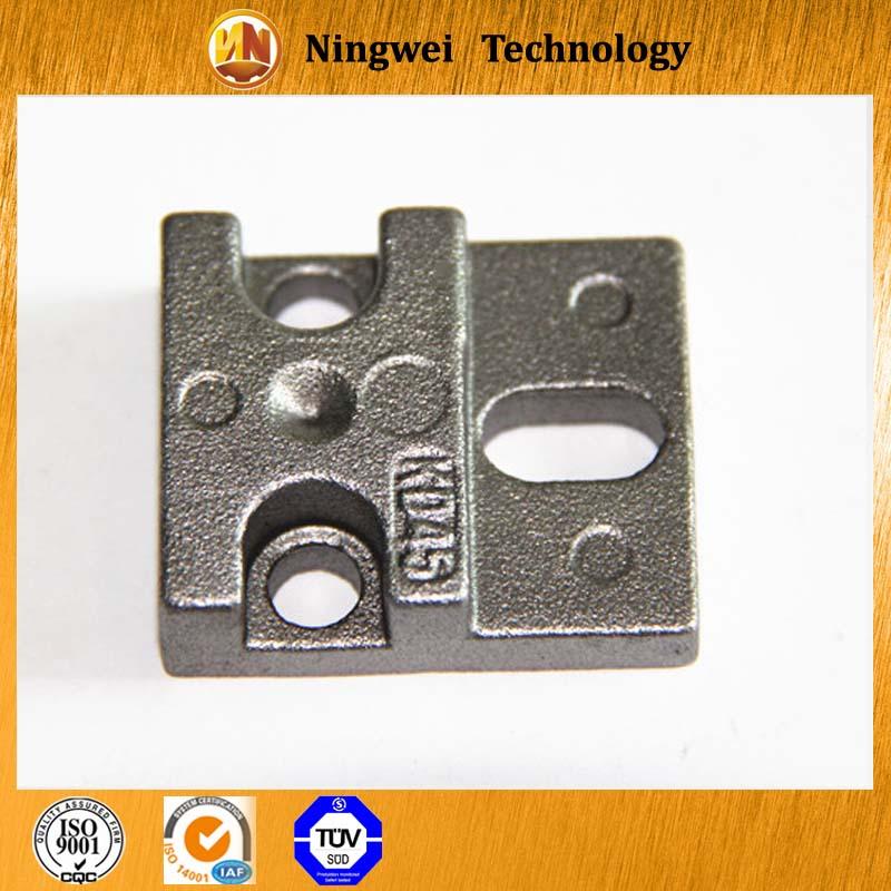 Анодирования обработки поверхности для железнодорожных передачи экономические бронза oem литье кронштейн