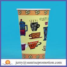 Disposable environment popular bio-degradable paper cup