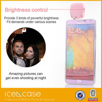 Selfie camera portable flash light for cell phone night selfie stick