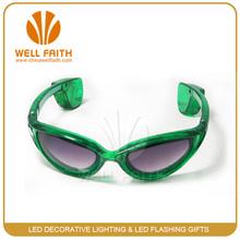 2014 Party show light up sunglasses/fashion sunglasses wiht flashing light