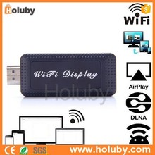 High Quality 2015 PTV-series PTV-Wifi Display Receiver Support Airplay Mirroring Miracast Window WIDI DLNA Connection Modes