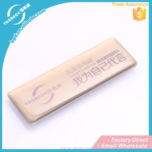 Fashionable Personalized Color Stainless Steel nameplates to specification