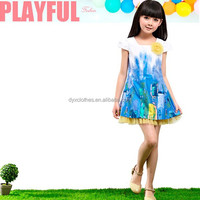 Chinese Supplier For Little Girls Top Quality Summer Casual Model Style Dress