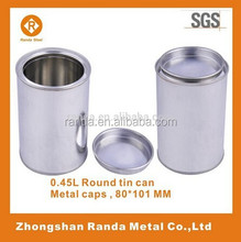 High quality tinplate can for paint or oil glue