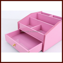 beautiful wooden cosmetic container,powder box,dressing case # HX-4003