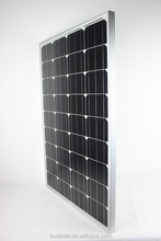 High efficient grade A 100kw solar panel price