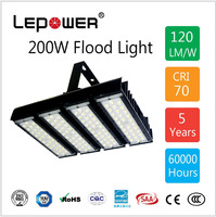 Surface Mounted 90 Degree Optic Lens 120LM/W LED High Bay Light 200W Daylight Color IP66