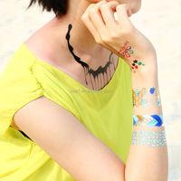 Temporary Waterproof Glitter Body Skin Tattoo Glitter Stone Tattoo