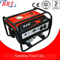 5kW Gasoline Generator electric generator with handle ,wheel