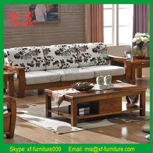 China supplier hot selling newest solid wood furniture sofa furniture price list