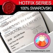 Specialized Swarovski Elements AB Light Rose (223AB) 10ss Crystal Iron On Rhinestone