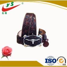 engravable crazy belt buckle custom
