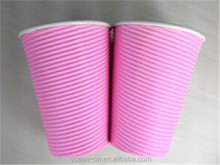 Pink Beverage Disposable Paper Cup