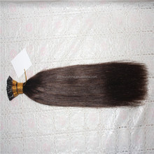 Alibaba Express Hot Selling Brazilian Virgin I Tip Hair Extensions Fusion Hair Extensions Silky Straight #4