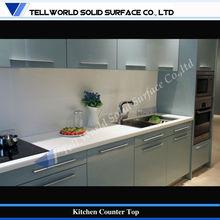 mármol artificial multifuncional mostrador de la cocina con cocinar utensilios de cocina