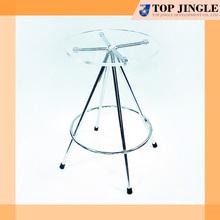 Blue Round shape Plastic Bar Stool