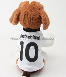 dog world cup football Germany jersey,dog summer suit,fashional dog clothes shirt