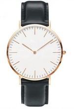 China Wholesale Luxury Design Genuine Leather Japan Movt Quartz Classic Custom Steel ultra-thin man watch