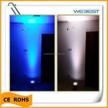 China factory wireless led uplighting 9 leds led dmx uplight