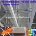 construir retardante de llama recubrimiento para estructura de acero a base de agua a prueba de fuego recubrimiento para metal