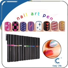 Fast Dry DIY Nail Art Quick Drawing Paint Polish Pens