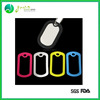 Hot Sale Popular Colorful Cheap silicone costumized dog tags