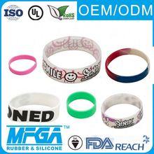 silicone luminent bracelets