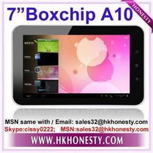 "7""boxchip A10 Tablet with Android 4.0 Market OK"