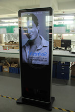 Promotion 42 inch Interactive Digital Signage with Shoe Polisher Machine , Custom Digital Signage for advertising