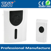 China factory,cheap Modern 32 ringtones 100m operating range AC110V~220V powered Plug-in Wireless Doorbell for home store office