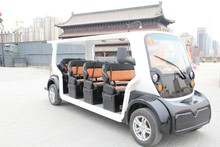 11 seats Electric Shuttle Bus used as electric suv with CE Certificate Electric shuttle bus