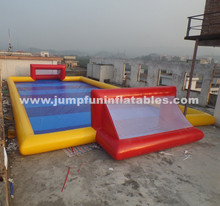 Adults and Kids Inflatable Soap Football Field,0.6mm/0.9mm Water Football Pitch/Sealed Inflatable Soccer Field size custom