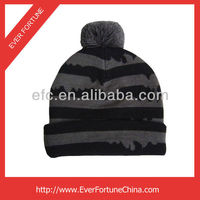2014 Children 100% Acrylic Knitted Jacquard Winter Beanie Hat