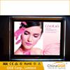 LED advertising light box/ crystal led light frame with acrylic lgp sheet