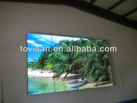 Full high definition seamless Samsung LCD video display