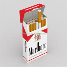 Bulk production paper cigarette box ,cigarette box packaging printing