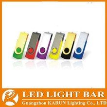 Top selling colorful swivel USB flash drive price