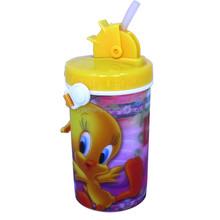 Cartoon Color Printing 3D Lenticular Plastic Bottle Juice