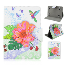 Floral pattern PU Leather stand Case Smart Cover For Apple iPad 2/iPad 3/ iPad 4/iPad Air