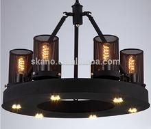 Americana moderna lámparas antiguas y linternas, Nordic moderno muebles, actuar el papel ofing,
