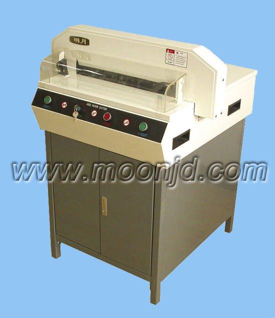A3 cortador de papel / MY450Z + guillotina cortadora eléctrica de papel cortador de papel máquina de corte de papel 450 * 450 mm 50 mm