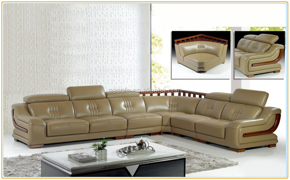 Wholesale Living Room Furniture Modern Sofa Made Of High Quality Sofa Leather