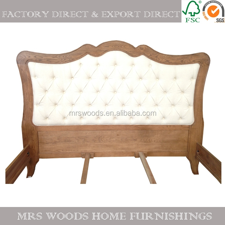 French Style Wooden Antique Style Furniture Bed Antique