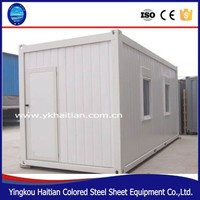 Movable prefabricated container house 20ft ,house container